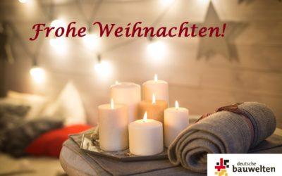 Wir wünschen eine friedvolle und schöne Weihnachtszeit!
