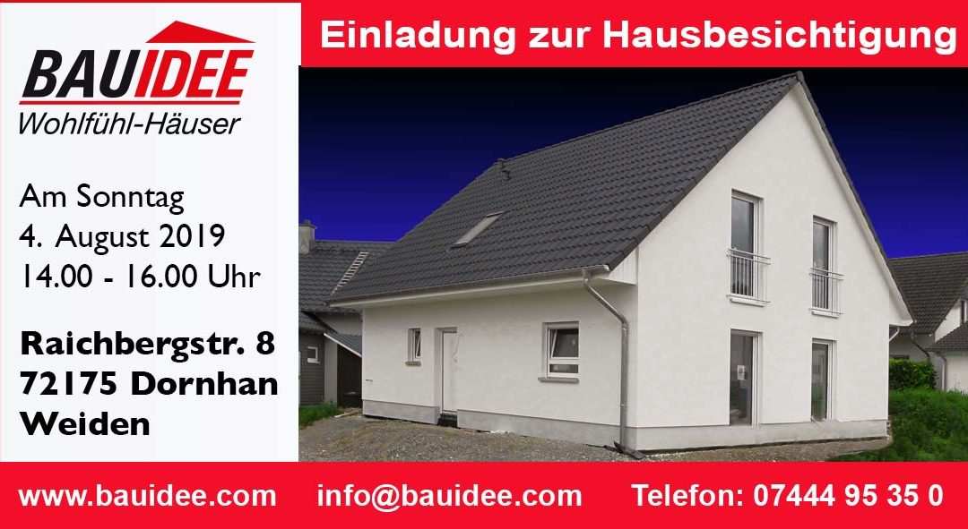 Satteldachhaus in Dornhan-Weiden