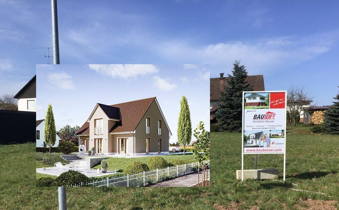 Satteldachhaus aus der Klassik-Serie auf dem Rötenberg